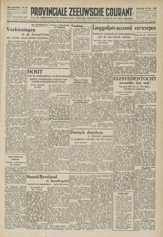 Provinciale Zeeuwse Courant 1947-02-10