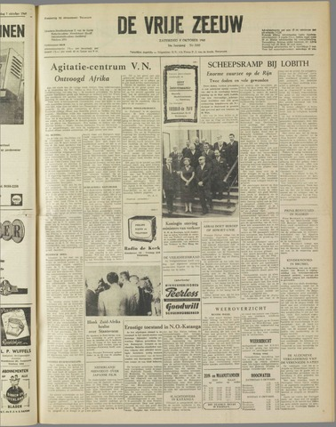 de Vrije Zeeuw 1960-10-08