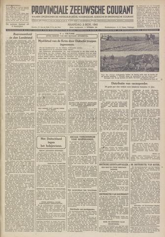 Provinciale Zeeuwse Courant 1941-11-03