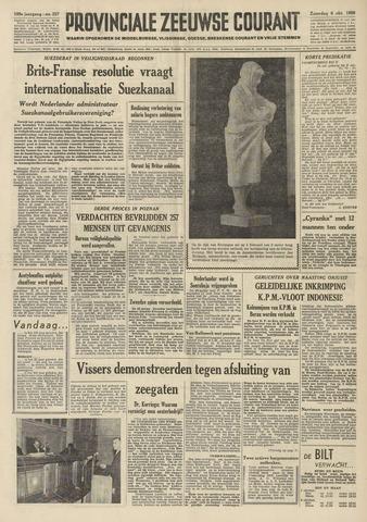 Provinciale Zeeuwse Courant 1956-10-06
