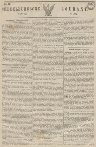 Middelburgsche Courant 1851-07-31