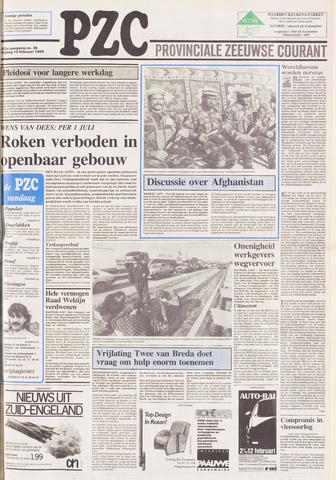 Provinciale Zeeuwse Courant 1989-02-10