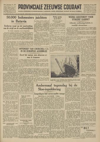 Provinciale Zeeuwse Courant 1949-08-18