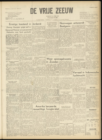 de Vrije Zeeuw 1957-04-16