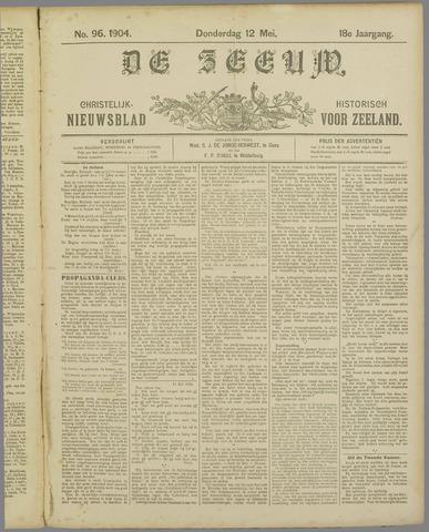 De Zeeuw. Christelijk-historisch nieuwsblad voor Zeeland 1904-05-12