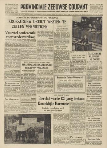 Provinciale Zeeuwse Courant 1961-07-10