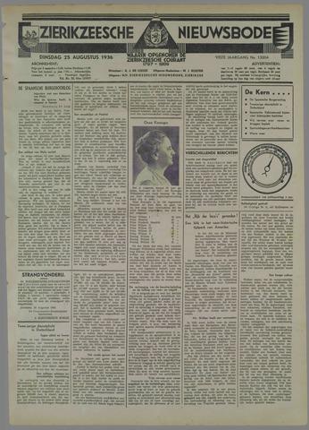 Zierikzeesche Nieuwsbode 1936-08-25