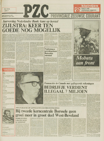 Provinciale Zeeuwse Courant 1977-04-27