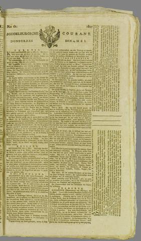 Middelburgsche Courant 1807-05-14