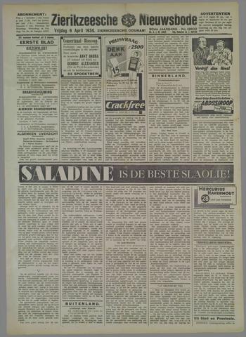 Zierikzeesche Nieuwsbode 1934-04-06