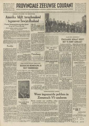 Provinciale Zeeuwse Courant 1953-04-04
