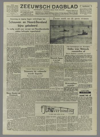 Zeeuwsch Dagblad 1954-02-03