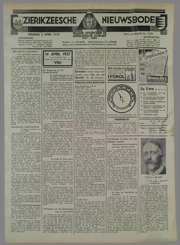 Zierikzeesche Nieuwsbode 1937-04-02