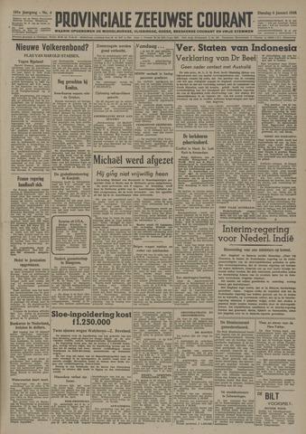 Provinciale Zeeuwse Courant 1948-01-06