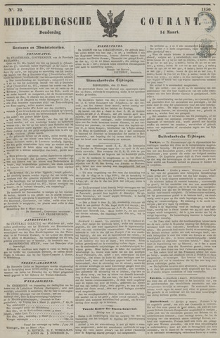 Middelburgsche Courant 1850-03-14