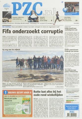 Provinciale Zeeuwse Courant 2010-10-18