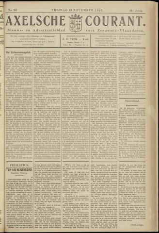 Axelsche Courant 1925-11-13