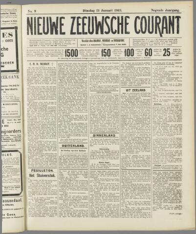 Nieuwe Zeeuwsche Courant 1913-01-21