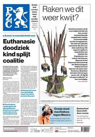 Provinciale Zeeuwse Courant 2020-10-08