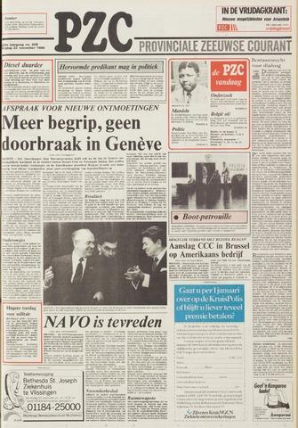 Provinciale Zeeuwse Courant 1985-11-22