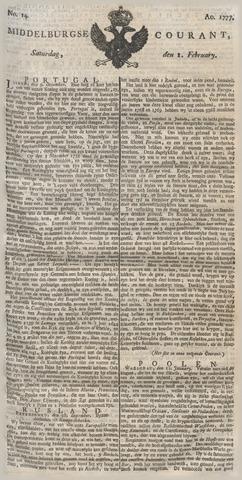 Middelburgsche Courant 1777-02-01