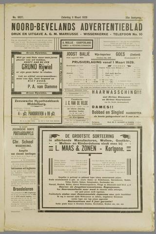Noord-Bevelands Nieuws- en advertentieblad 1929-03-09