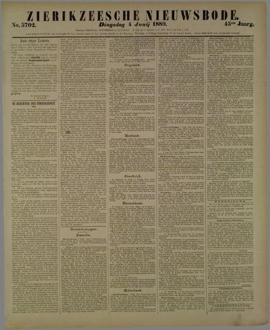Zierikzeesche Nieuwsbode 1889-06-04