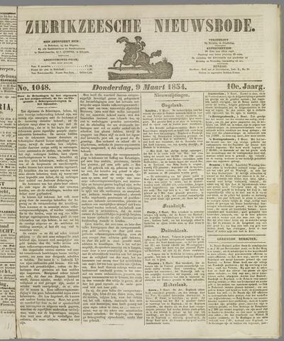 Zierikzeesche Nieuwsbode 1854-03-09