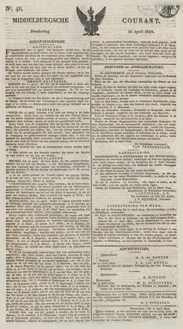 Middelburgsche Courant 1829-04-16