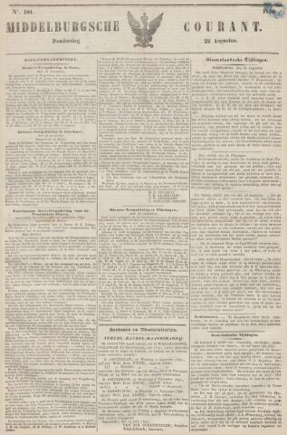 Middelburgsche Courant 1850-08-22