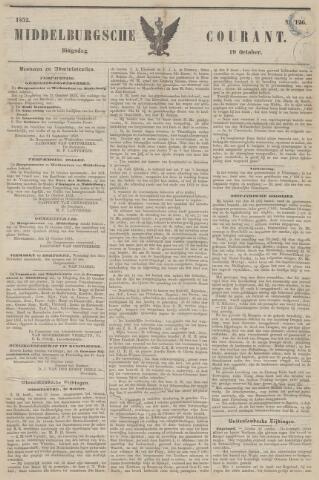 Middelburgsche Courant 1852-10-19