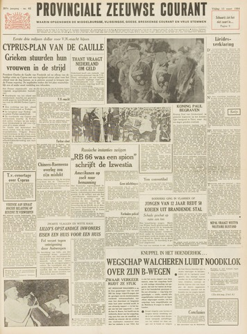 Provinciale Zeeuwse Courant 1964-03-13