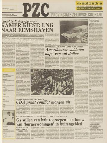Provinciale Zeeuwse Courant 1978-11-01