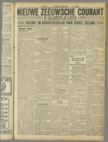 Nieuwe Zeeuwsche Courant 1927-02-19