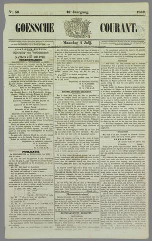 Goessche Courant 1859-07-04