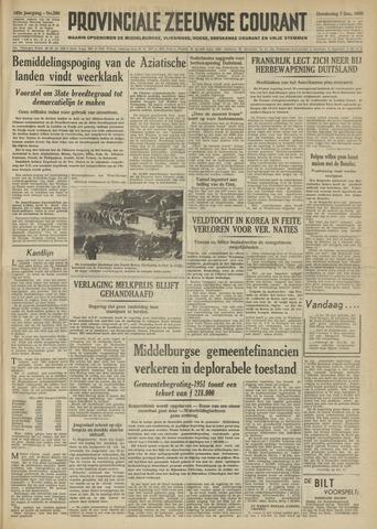 Provinciale Zeeuwse Courant 1950-12-07