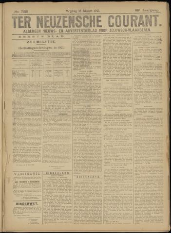Ter Neuzensche Courant. Algemeen Nieuws- en Advertentieblad voor Zeeuwsch-Vlaanderen / Neuzensche Courant ... (idem) / (Algemeen) nieuws en advertentieblad voor Zeeuwsch-Vlaanderen 1921-03-18