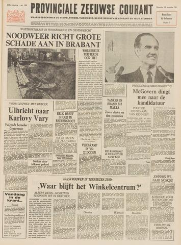 Provinciale Zeeuwse Courant 1968-08-12