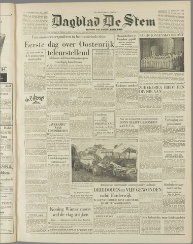 de Stem 1954-02-13