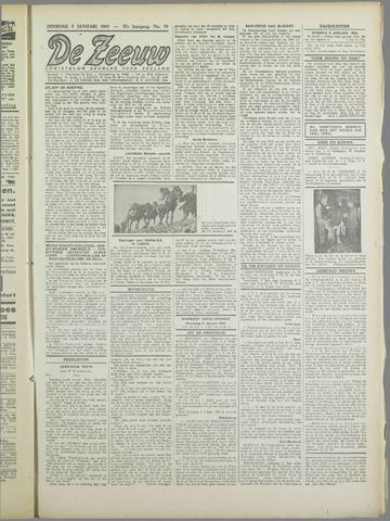 De Zeeuw. Christelijk-historisch nieuwsblad voor Zeeland 1943-01-05