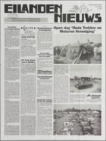 Eilanden-nieuws. Christelijk streekblad op gereformeerde grondslag 2000-08-08