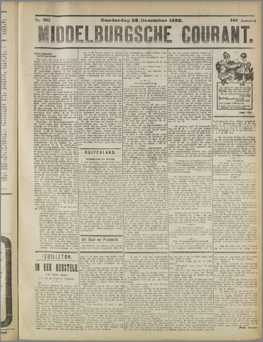 Middelburgsche Courant 1922-12-28