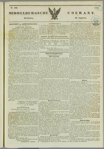Middelburgsche Courant 1846-08-20