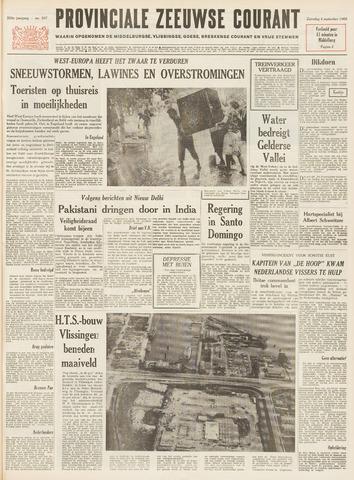 Provinciale Zeeuwse Courant 1965-09-04