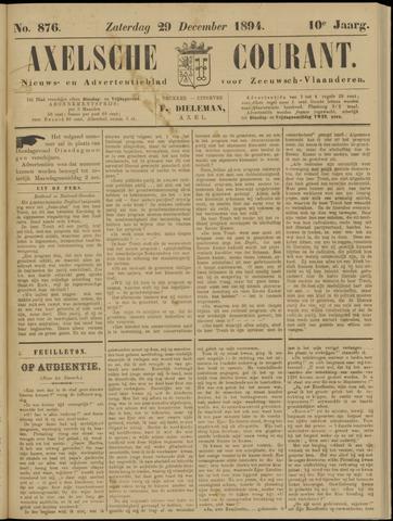 Axelsche Courant 1894-12-29