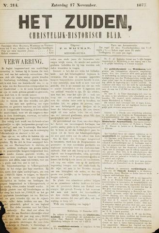 Het Zuiden, Christelijk-historisch blad 1877-11-17