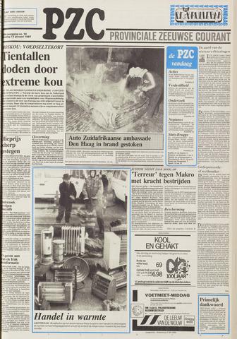Provinciale Zeeuwse Courant 1987-01-13