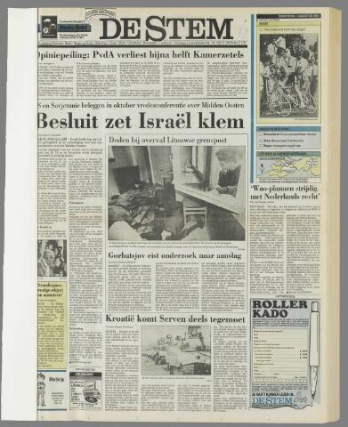 de Stem 1991-08-01