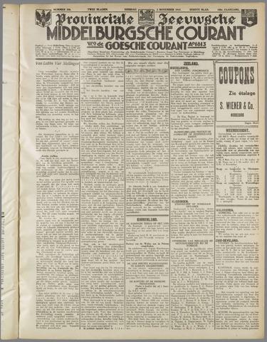 Middelburgsche Courant 1937-11-02