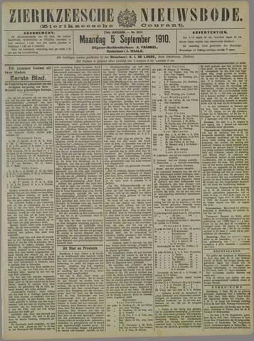 Zierikzeesche Nieuwsbode 1910-09-05